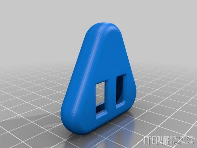 吉他拨片  手饰 3D模型  图4