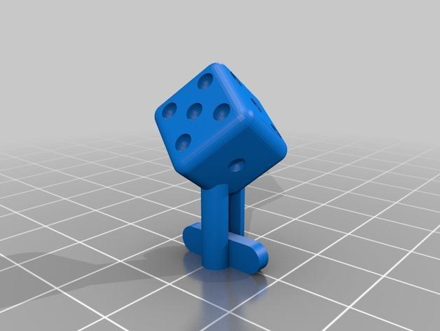 星球大战 袖扣 3D模型  图2