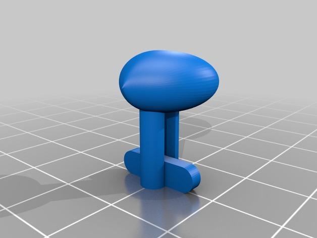 星球大战 袖扣 3D模型  图4