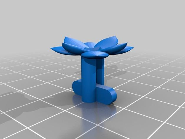 星球大战 袖扣 3D模型  图3