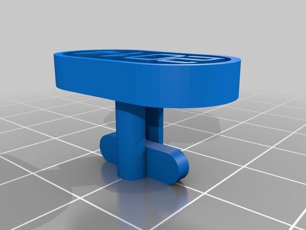 星球大战 袖扣 3D模型  图5