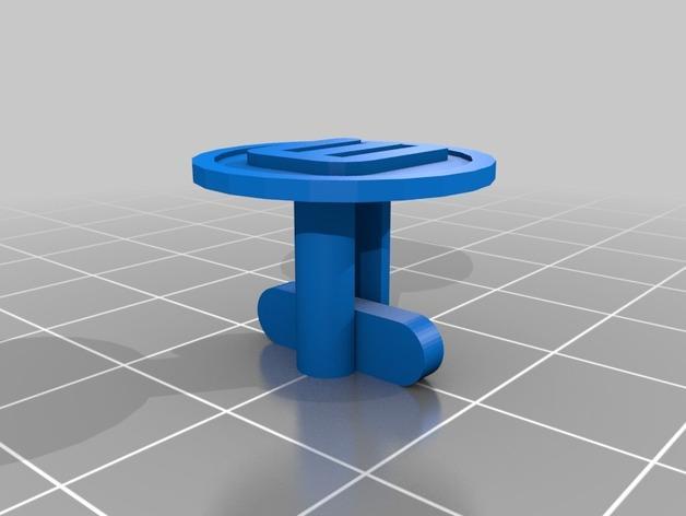 星球大战 袖扣 3D模型  图6