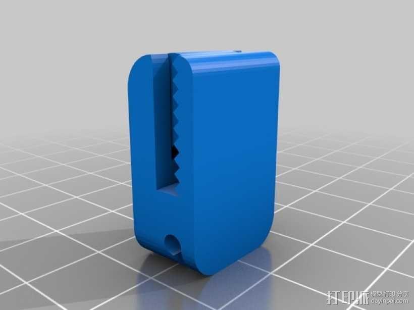 手套夹 3D模型  图3