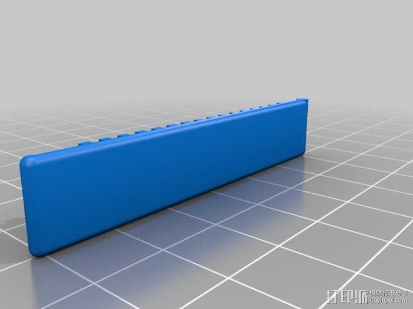 手套夹 3D模型  图2