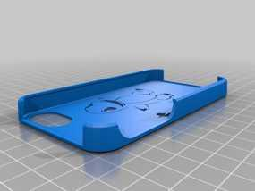 小火龙 iPhone 4手机套 3D模型
