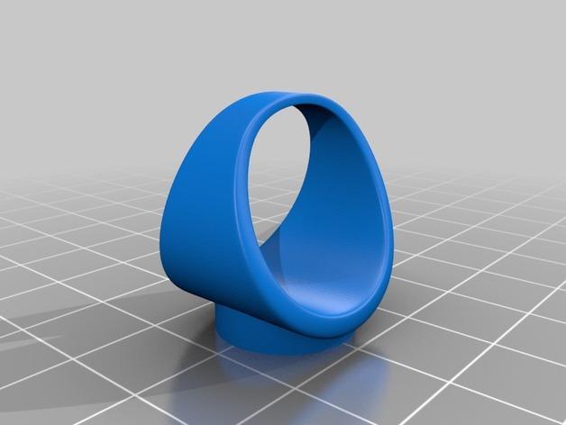 红白黑黄 指环 3D模型  图12