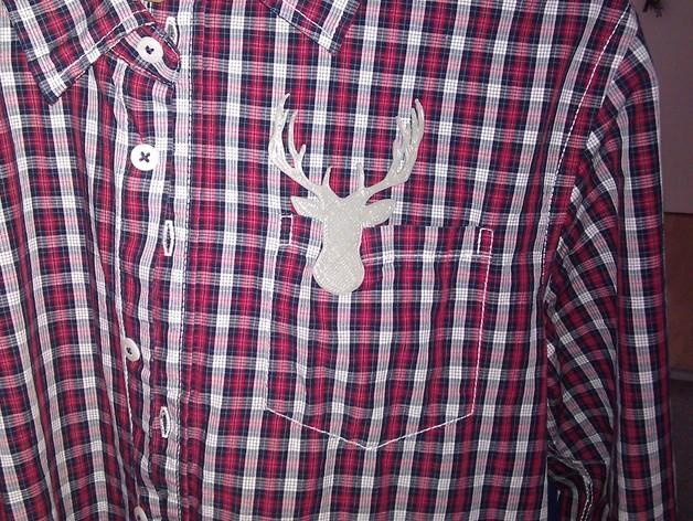 鹿头夹子 3D模型  图2