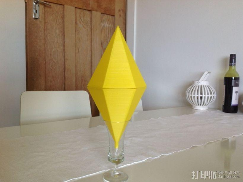 Sims西姆斯铅锤 3D模型  图1