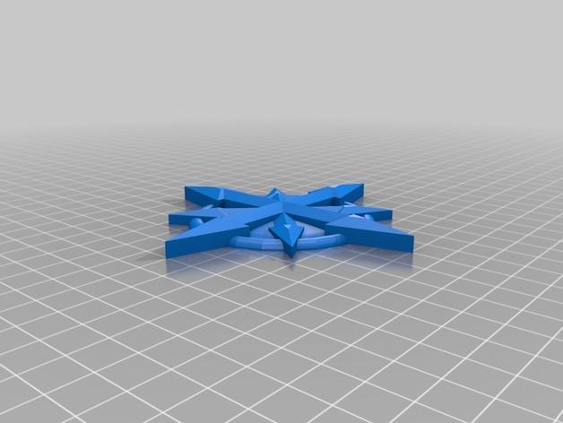 十字架 3D模型  图2