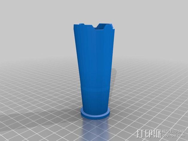 骷髅头头骨 3D模型  图3
