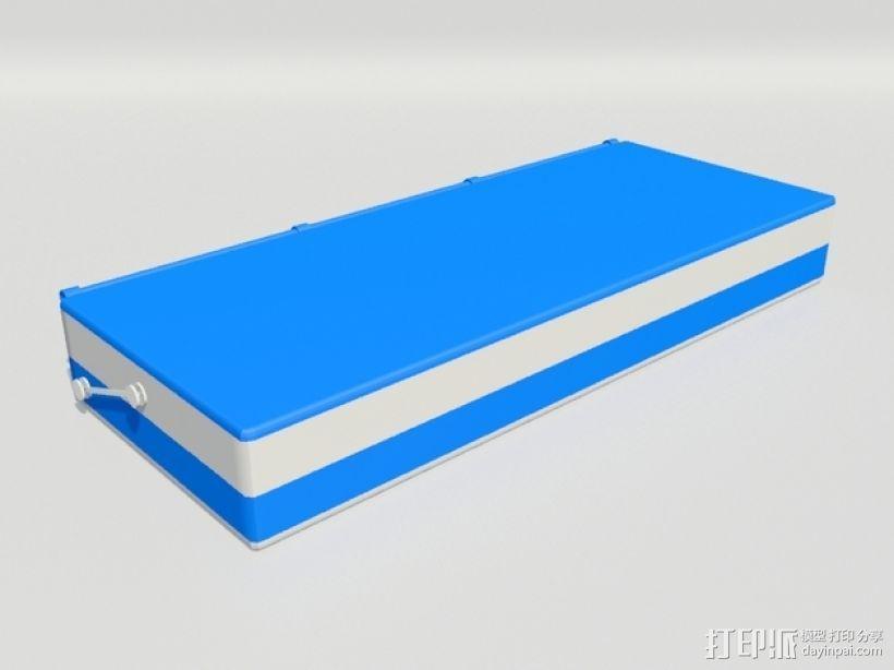 3D打印 铅笔套 铅笔盒 尺子 3D模型  图5