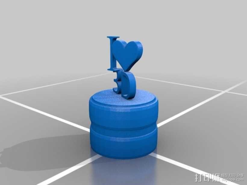3D打印 铅笔套 铅笔盒 尺子 3D模型  图6