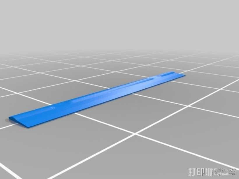 3D打印 铅笔套 铅笔盒 尺子 3D模型  图10