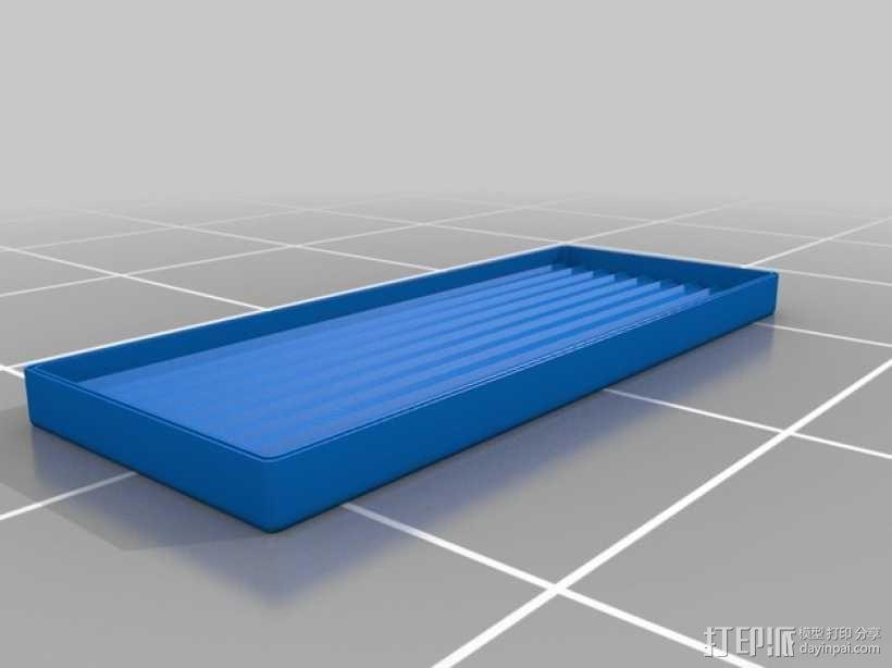 3D打印 铅笔套 铅笔盒 尺子 3D模型  图9