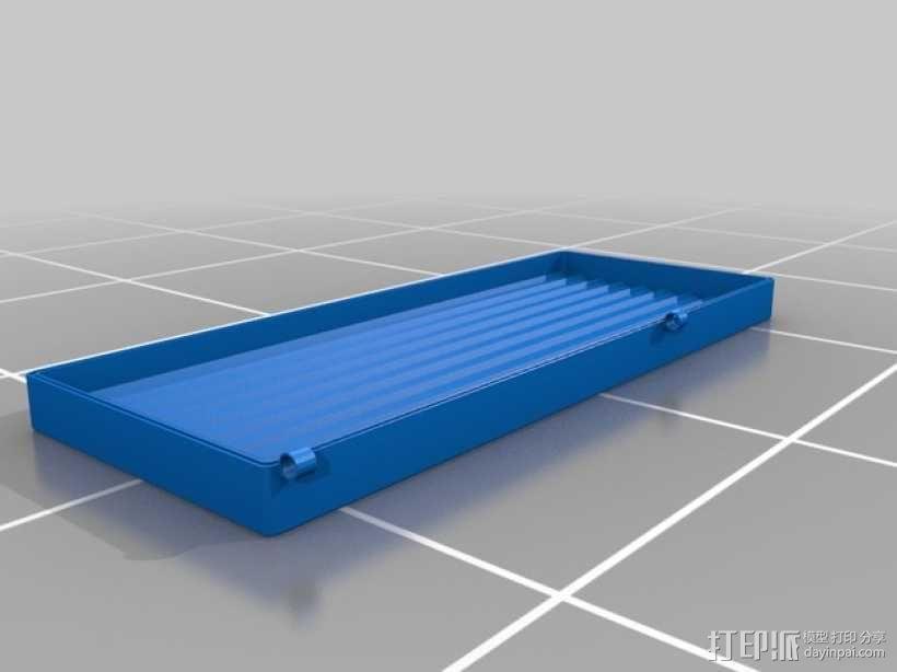3D打印 铅笔套 铅笔盒 尺子 3D模型  图11