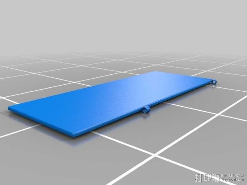 3D打印 铅笔套 铅笔盒 尺子 3D模型  图12