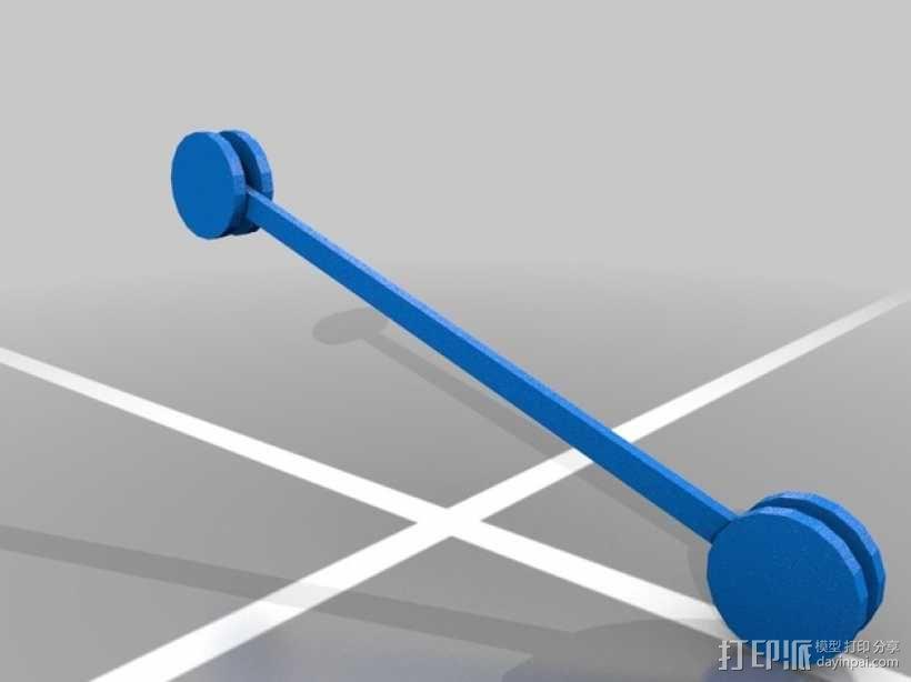 3D打印 铅笔套 铅笔盒 尺子 3D模型  图14