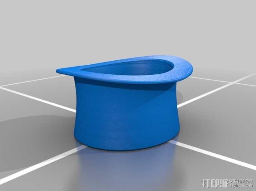 大礼帽 3D模型  图1
