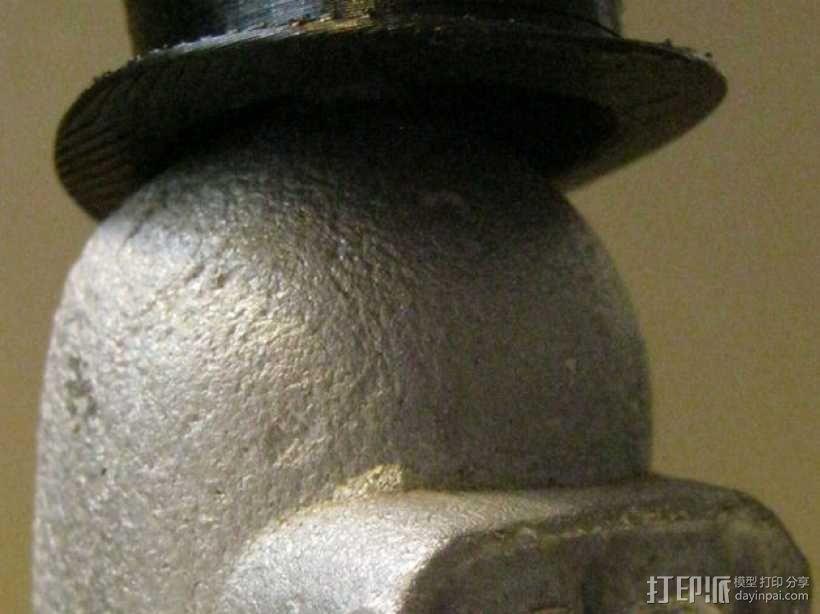大礼帽 3D模型  图2