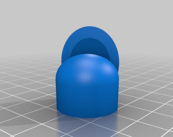 手指 (带指甲) 3D模型  图2