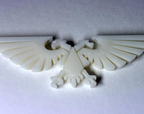飞鹰项链 3D模型  图1