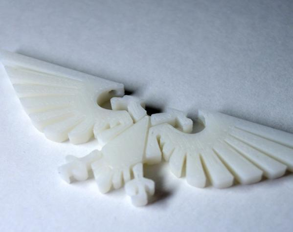 飞鹰项链 3D模型  图2