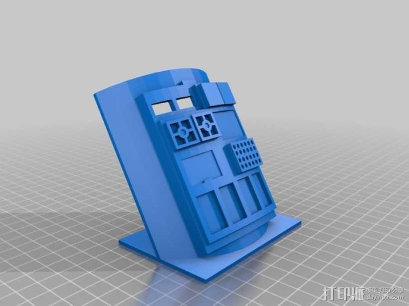飞行员通信板 3D模型  图3