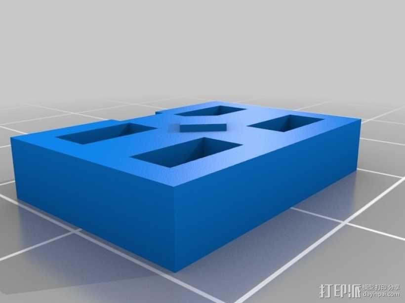 飞行员通信板 3D模型  图6