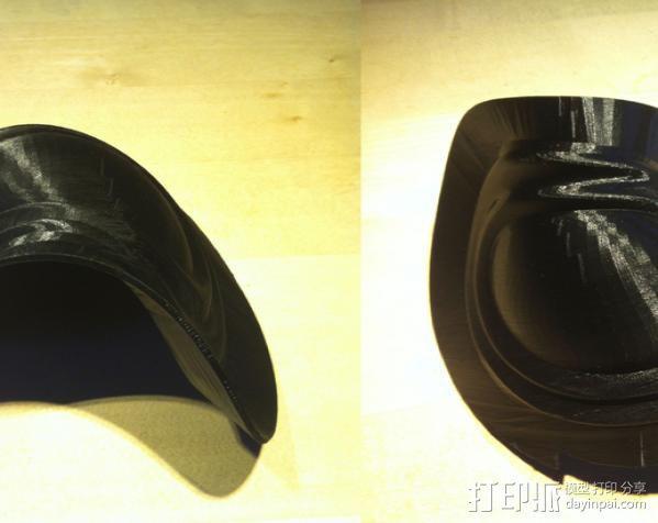 洛克人护肩 3D模型  图3