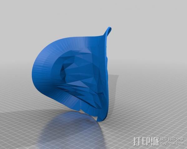 洛克人护肩 3D模型  图4