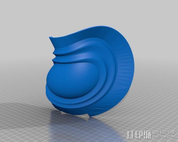 洛克人护肩 3D模型  图5