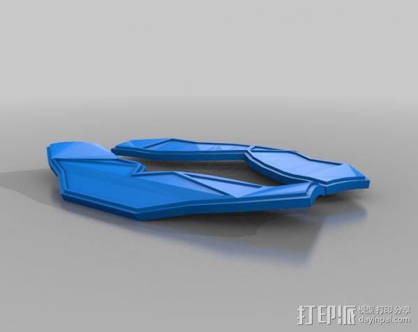 洛克人护肩 3D模型  图6