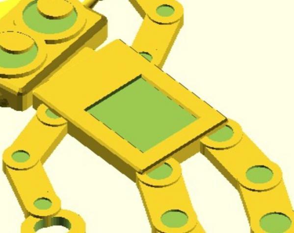 机器人吊坠 3D模型  图3