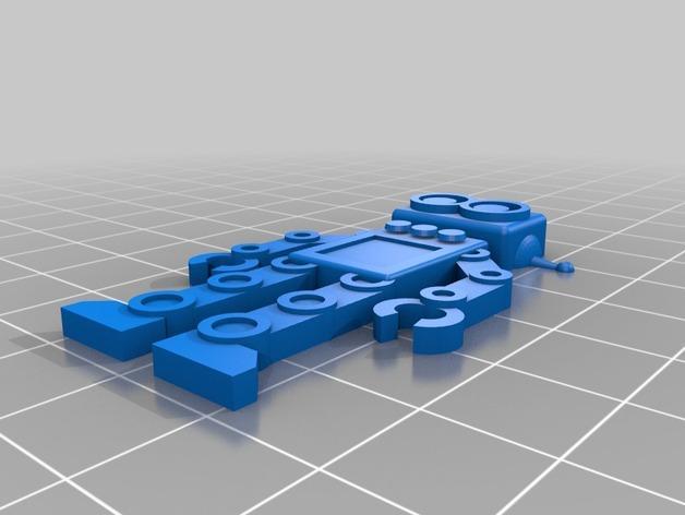 机器人吊坠 3D模型  图2