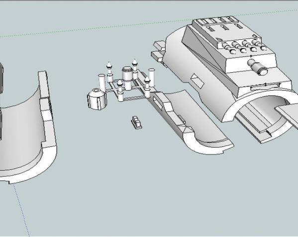 Bo Katan的长手套 3D模型  图1