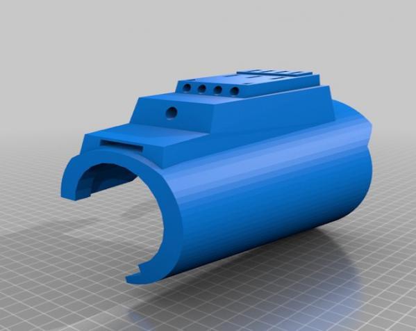 Bo Katan的长手套 3D模型  图3