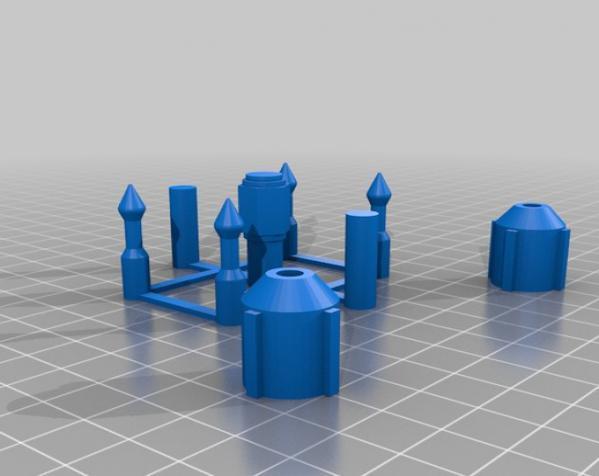 Bo Katan的长手套 3D模型  图8