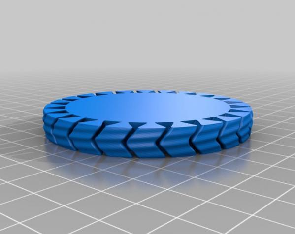 几何弹性手镯 3D模型  图2