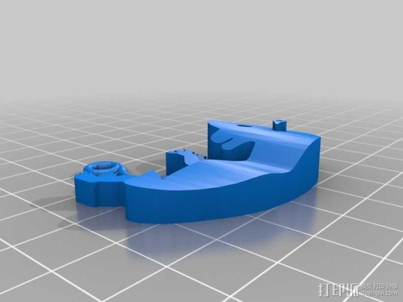胎儿 钥匙坠  3D模型  图1