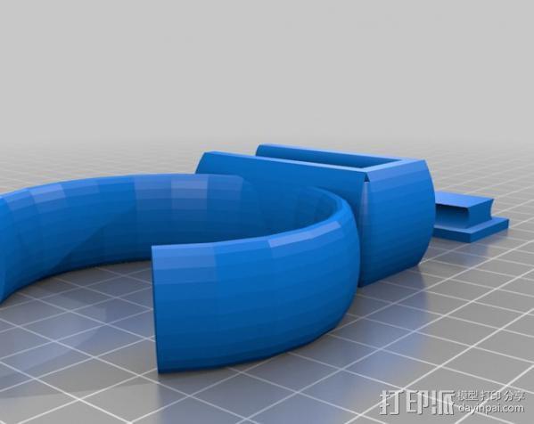 救生手镯 3D模型  图2