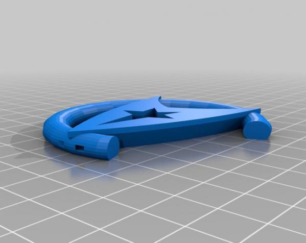可汗项链 3D模型  图3