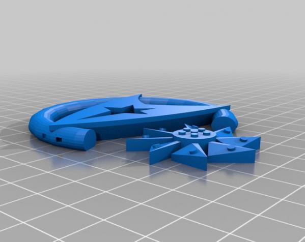 可汗项链 3D模型  图2