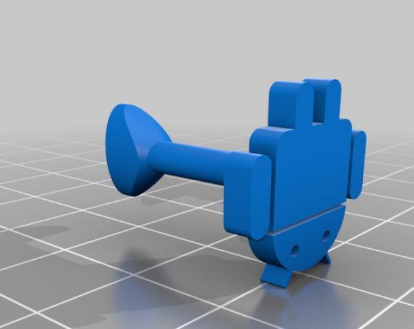 安仔 袖扣 3D模型  图6