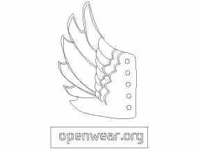 天使翅膀 3D模型