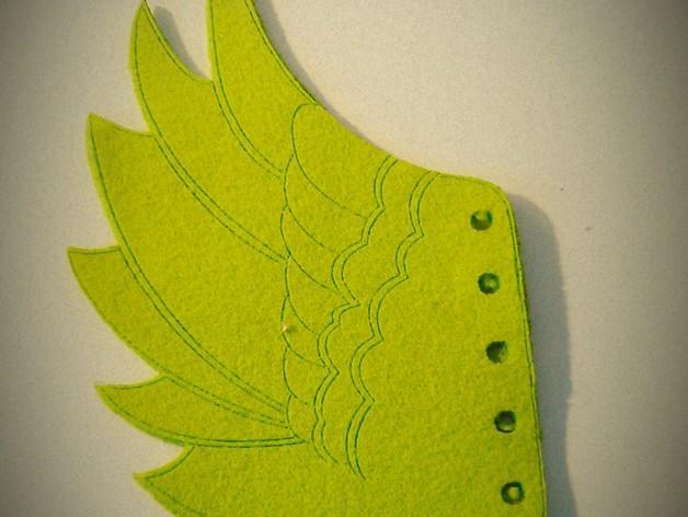 天使翅膀 3D模型  图2