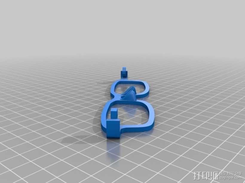 太阳镜 3D模型  图5