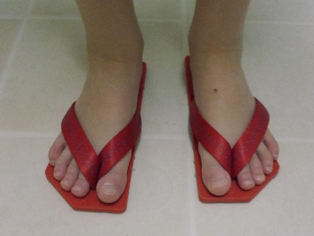 拖鞋 3D模型  图2