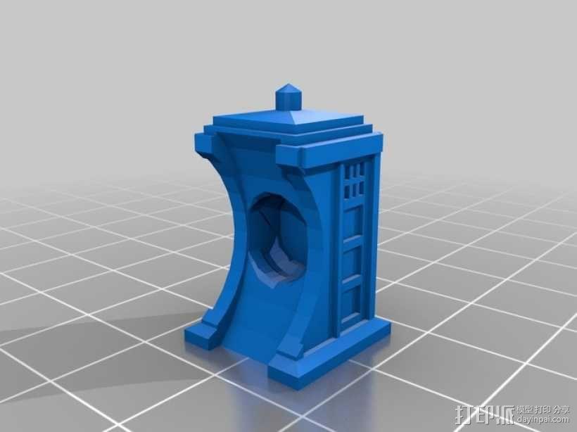 时光机 戒指 3D模型  图2