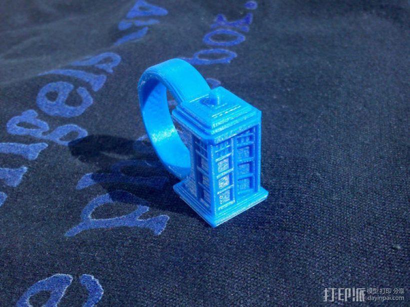 时光机 戒指 3D模型  图3