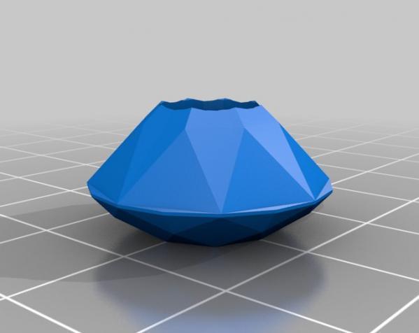 钻戒  3D模型  图2